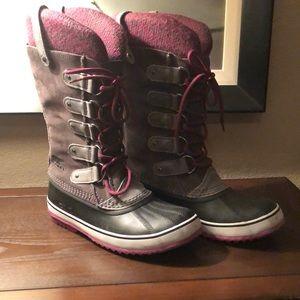 Sorel snow boots, US Size 10